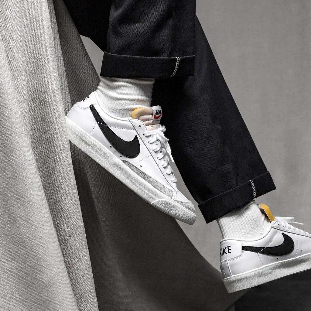 Giày Nike Blazer Low - DA6364 101 - trắng xám   Shopee Việt Nam