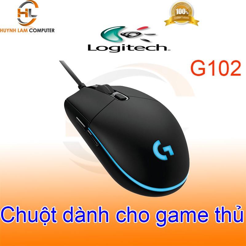 Chuột chuyên game có dây Logitech G102 chính hãng DGW phân phối