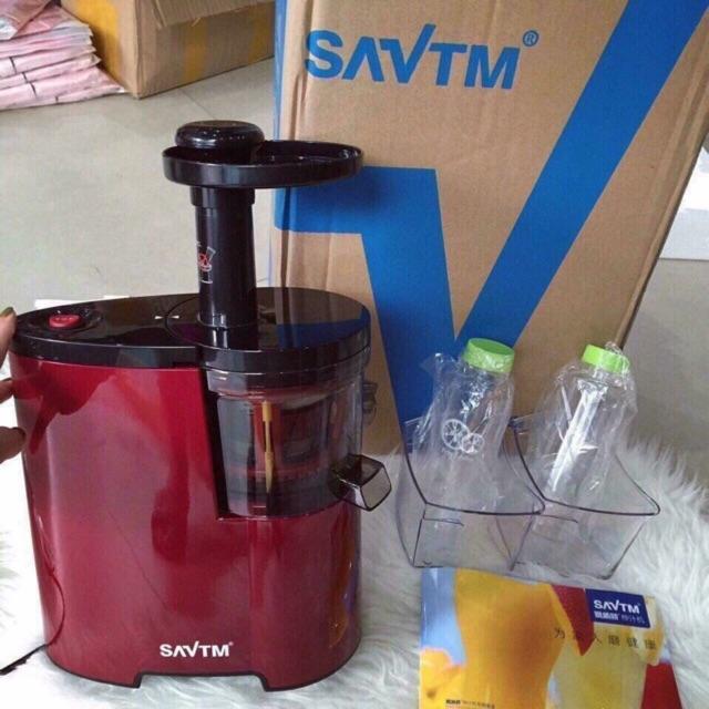 Máy ép hoa quả chậm SAVTM kèm 2 bình đựng nước