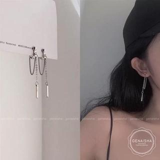 [Mã FASHIONRN15 hoàn ngay 15k xu đơn từ 99k] Khuyên tai dáng dài phong cách thời trang độc đáo sành điệu cho bạn nữ 3