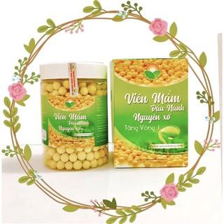 [100% Chính Hãng] Kẹo Viên Mầm Đậu Nành Nguyên Xơ,Cải Thiện V1, Cân Bàng Nội Tiết Nữ