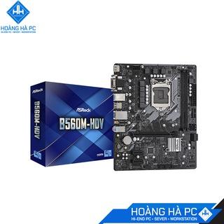 Mainboard ASROCK B560M-HDV (Intel B560, LGA 1200, m-ATX, 2 khe Ram DDR4) thumbnail