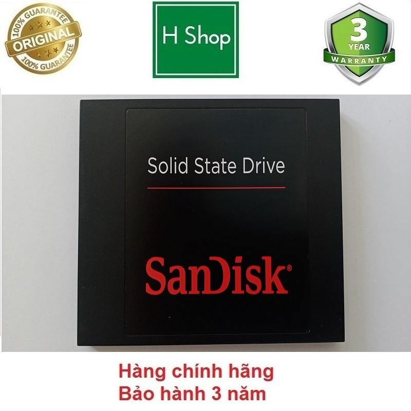 Ổ cứng SSD Sandisk 128Gb, hàng tháo máy chính hãng, bảo hành 3 năm
