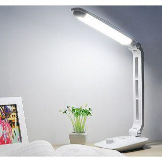 Đèn học để bàn tích điện xoay 360 độ điều chỉnh ánh sáng DP-6012