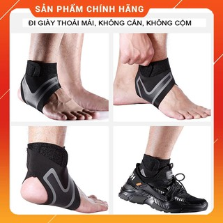 Bó chống lật cổ chân, sơ mi cho Nam và Nữ – Phục hồi sau chấn thương Đá Bóng, Cầu Lông, chạy bộ – LuânSport