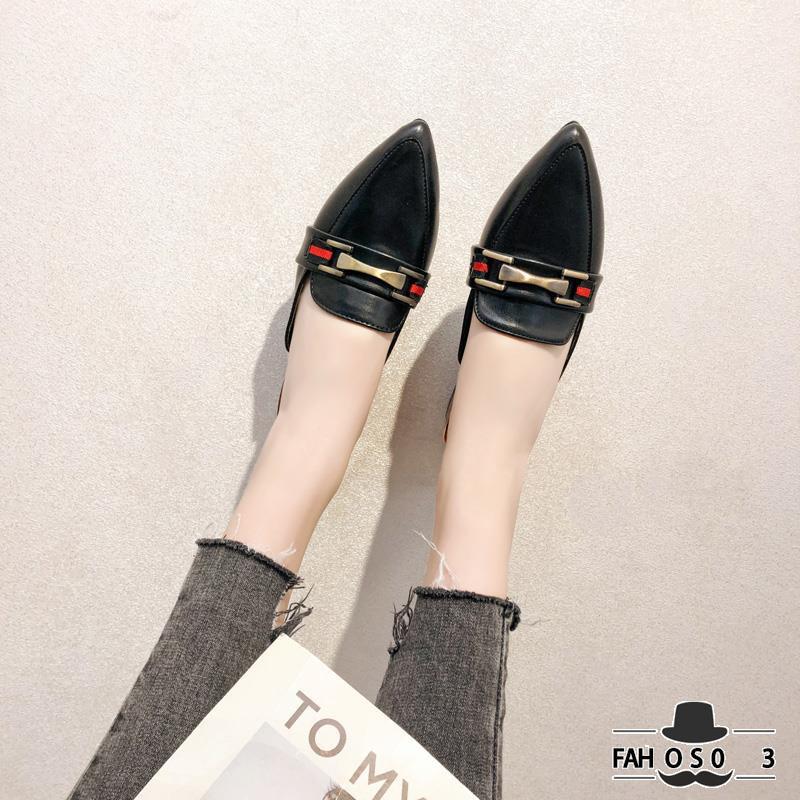 Giày da bóng mũi nhọn thời trang Hàn Quốc cho nữ - 14531033 , 2137403014 , 322_2137403014 , 331200 , Giay-da-bong-mui-nhon-thoi-trang-Han-Quoc-cho-nu-322_2137403014 , shopee.vn , Giày da bóng mũi nhọn thời trang Hàn Quốc cho nữ
