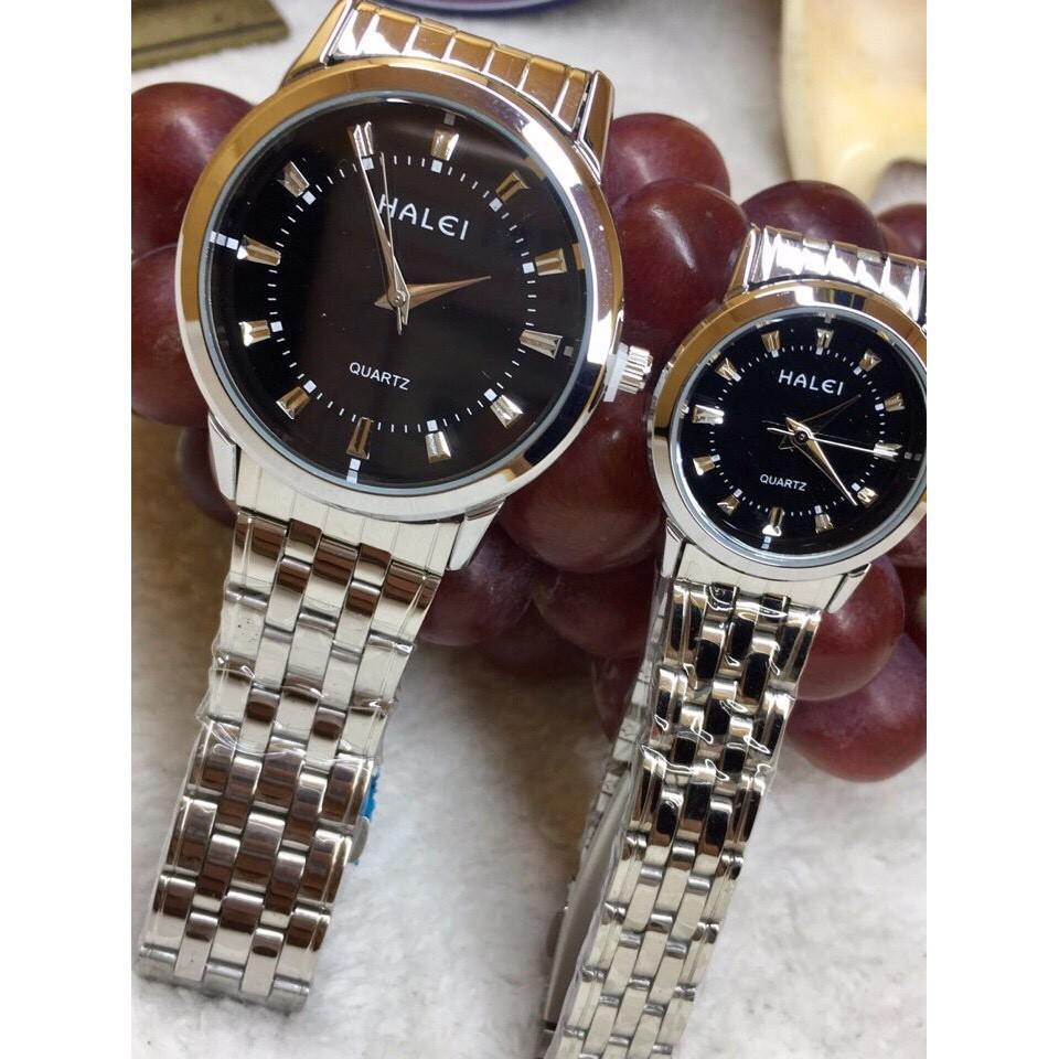 Đồng hồ nam Halei dây hợp kim chống nước