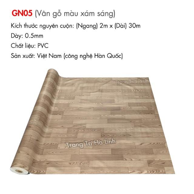 Simili trải sàn vân gỗ nhám PVC , thảm nhựa dán sàn giả gỗ nhiều màu đẹp trải phòng ngủ, phòng khách, kho hàng