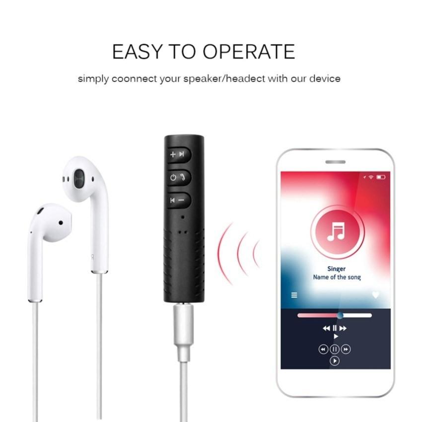 Bộ Thu Phát Âm Thanh Bluetooth Siêu Nhỏ Biến co dây thành không dây