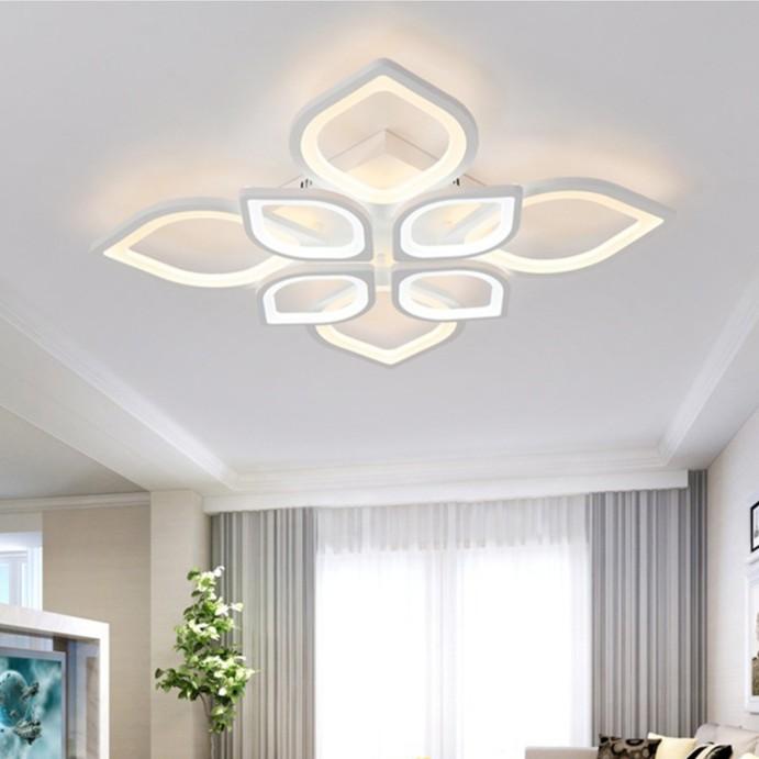 Đèn Led ốp trần trang trí MAOKAI 3 chế độ sáng, điều khiển từ xa hiện đại
