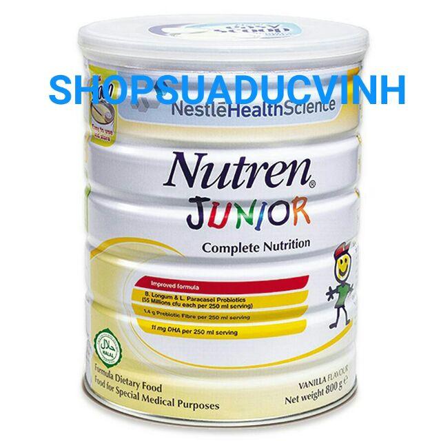 Sữa bột Nestle Nutren Junior 800g date 02/2020 (bé biếng ăn) - 2563092 , 1159166069 , 322_1159166069 , 630000 , Sua-bot-Nestle-Nutren-Junior-800g-date-02-2020-be-bieng-an-322_1159166069 , shopee.vn , Sữa bột Nestle Nutren Junior 800g date 02/2020 (bé biếng ăn)
