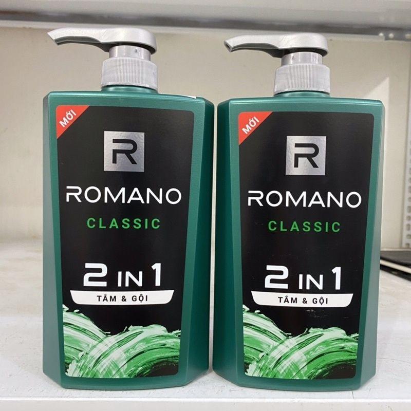 Tắm & Gội Romano Classic 2in1 (650g) thumbnail