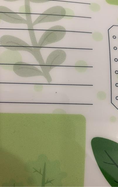 Bảng nam châm ghi chú Bị lỗi nhỏ trong quá trình sản xuất