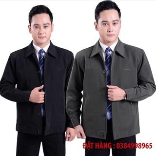 [ GIÁ SIÊU RẺ ] Áo khoác trung niên cao cấp cho bố – áo khoác cho bố dáng đứng