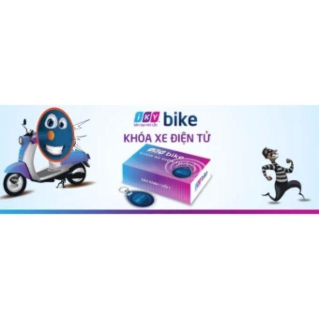 Bộ khóa chống trộm xe máy iKY Bike (quẹt thẻ từ)