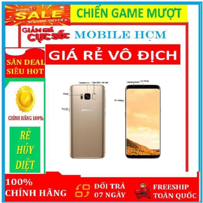 điện thoại SAMSUNG GALAXY S8 PLUS 2sim ram 4G/64G mới - Vân Tay nhạy - Bảo hành 12 Tháng