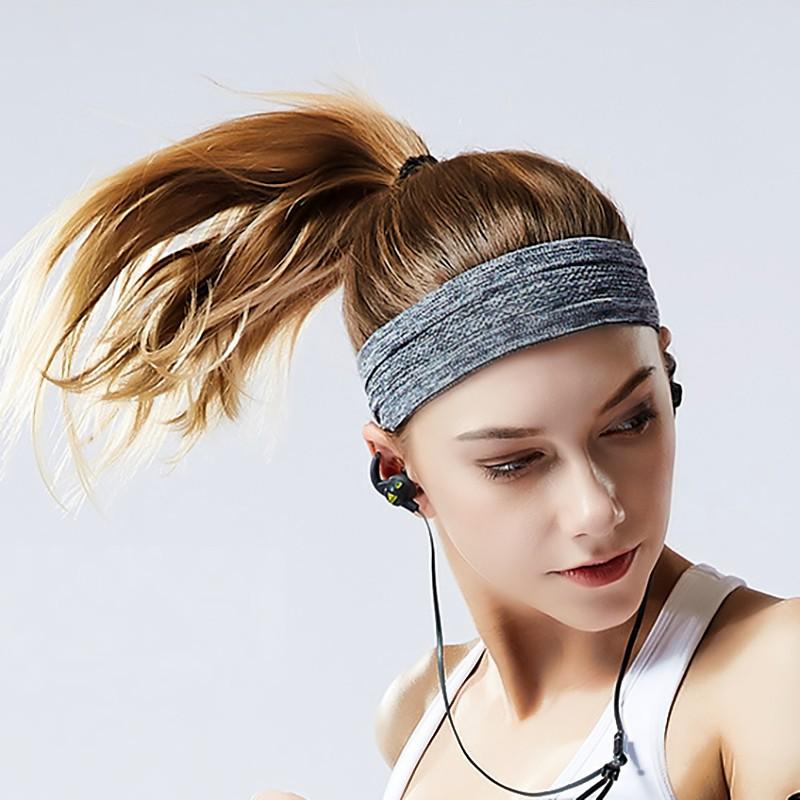 Băng đô thể thao headband cotton đeo trán thấm chặn mồ hôi chống trượt bản 5cm