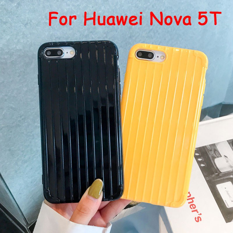 เคสสำหรับ Huawei nova 5T เคส Soft TPU Phone Case Back Cover Huawei nova 5T nova5T เคสซิลิโคน กรณี