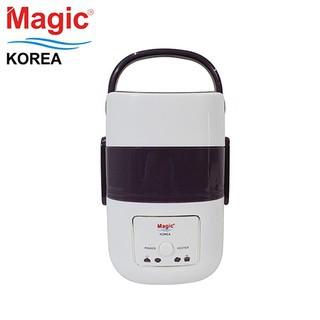 Hộp nấu và hâm nóng cơm lồng Inox 03 tầng Magic Korea