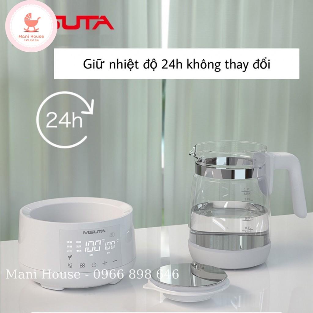 [Mã 267FMCGSALE giảm 8% đơn 500K] Bình hâm nước pha sữa đa năng Misuta bản cao cấp