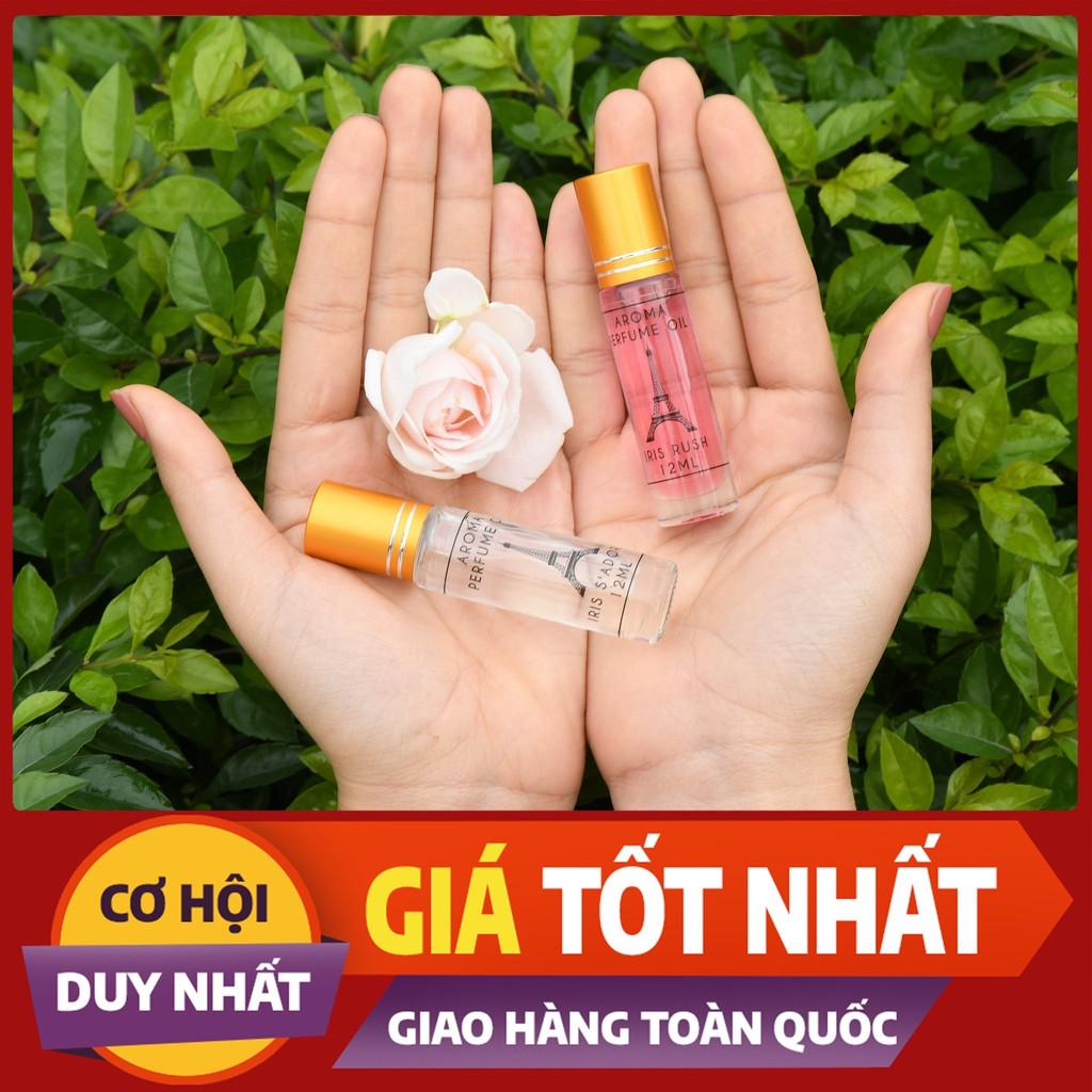 Nước hoa mini bỏ túi nguyên liệu nhập khẩu từ pháp dạng lăn 12ml