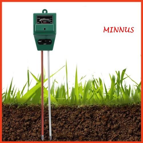 Máy đo độ PH, độ ẩm của đất, đo ánh sáng, bút đo PH 3 trong 1