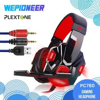 Tai Nghe Chơi Game Plextone Pc780 Có Mic Và Đèn Led Chuyên Dụng