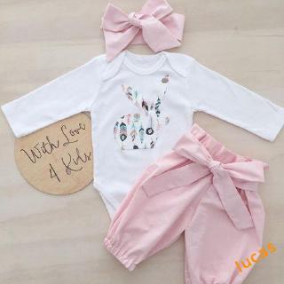 ❀Strawberries❀-Hot Newborn Baby Girl Floral Clothes Romper Jumpsuit Bodysuit Long Pants Outfit