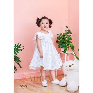 Đầm công chúa thắt nơ lưng-DCC01
