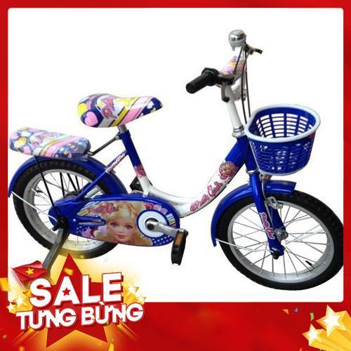 [ Nhập TUSUDD giảm thêm 30k nhé ] Xe đạp Nhựa Chợ Lớn 16 inch K48 - M1503-X2B