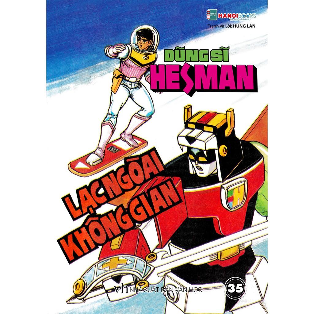 Sách - Boxset 7 : 5 Tập Dũng Sĩ HesMan