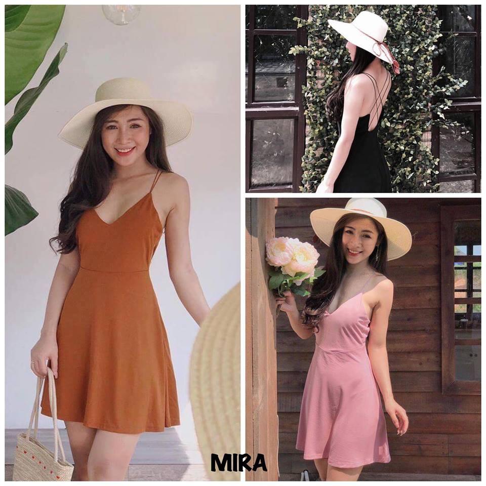 ẢNH THẬT - Đầm xòe đan dây lưng Mira dress/ đầm maxi đan dây - 9947938 , 1187189653 , 322_1187189653 , 195000 , ANH-THAT-Dam-xoe-dan-day-lung-Mira-dress-dam-maxi-dan-day-322_1187189653 , shopee.vn , ẢNH THẬT - Đầm xòe đan dây lưng Mira dress/ đầm maxi đan dây