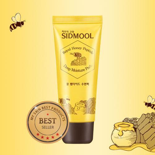 Mặt nạ ngủ Sidmool Royal Honey Peptide