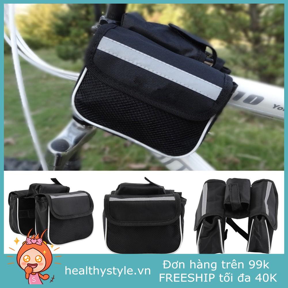 Túi đựng đồ treo sườn xe đạp đa năng chống nước cao cấp