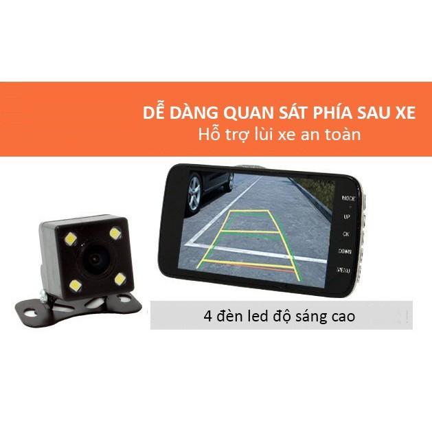 Camera hành trình X004/ X002/ A10 Cao cấp - FullHD 1080p - (Ghi hình trước sau)