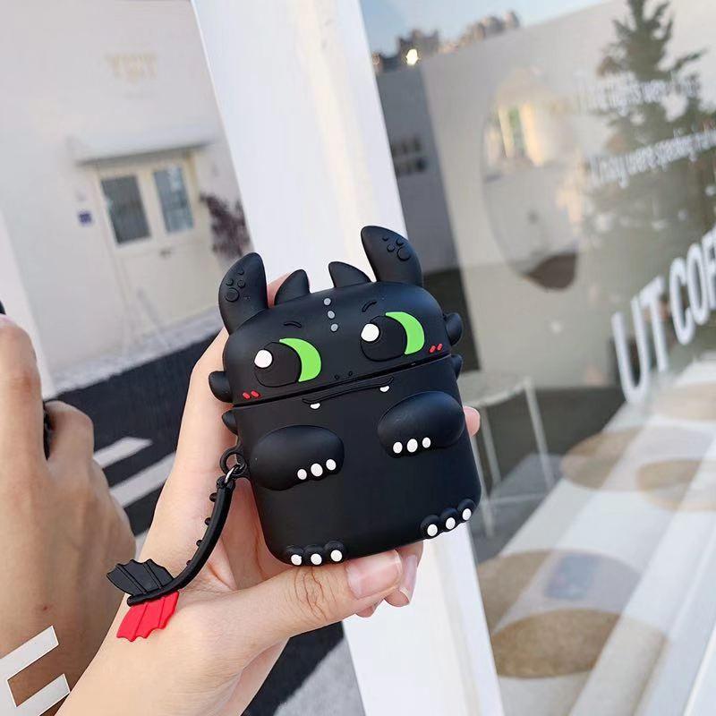 Case silicon Airpod Vỏ bọc bảo vệ tai nghe vỏ bao airpod đựng airpods pro airpods 3