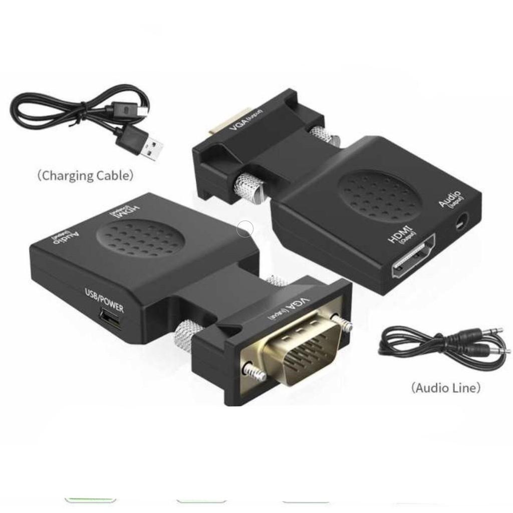 Đầu Chuyển VGA sang HDMI có audio