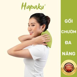 Gối Thảo Dược Chườm Nóng Lạnh Đa Năng Hapaku thumbnail