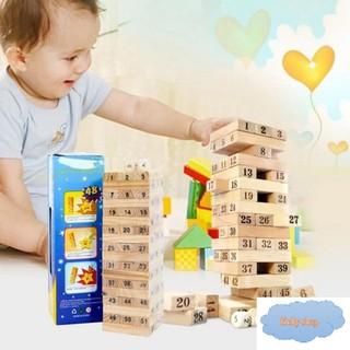 Bộ đồ chơi rút gỗ mini Wiss Toy 54 thanh (BB27-RG54)