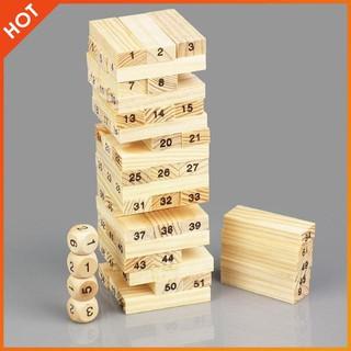 Combo 2 bộ rút gỗ 54 thanh cho bé | HÀNG MỚI