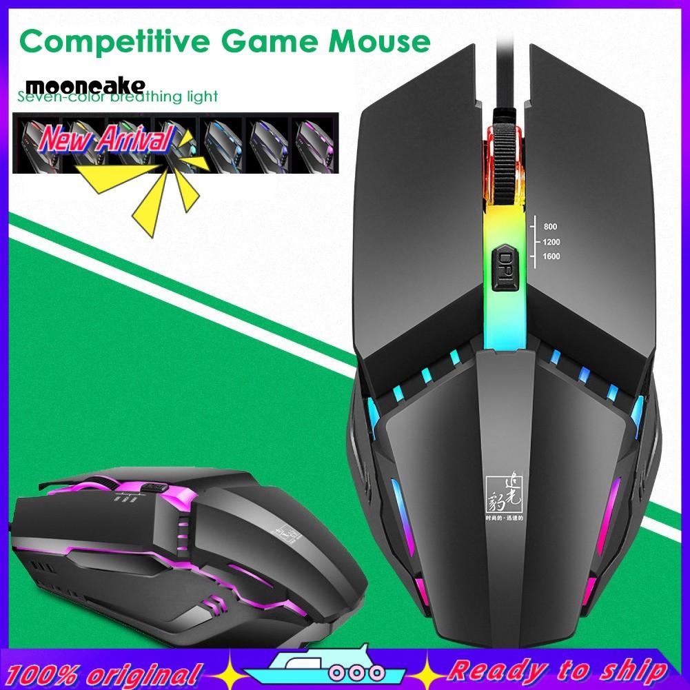 Chuột Gaming Có Dây Usb Và Đèn Led Nhiều Màu Sắck3 Cho Pc