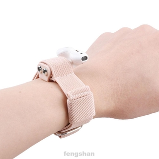 Anti Lost Arm Wrist Adjustable Outdoor Portable Silicone Case Wear Resistant Practical Non Slip For Apple Earphone