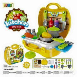 Bộ Đồ Chơi Nấu Ăn Dụng Cụ Nhà Bếp Cho Bé – bộ đồ chơi nấu ăn dụng cụ nhà bếp cho bé (26 món)với chi tiết tinh xảo nhé