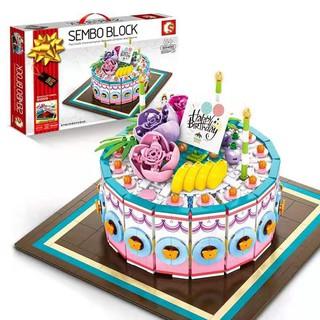 Lego Creator Sembo Romantic Birthday Cake Bánh sinh nhật
