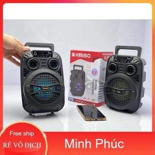 [Mã ELFLASH5 giảm 20K đơn 50K] Loa Di Động Karaoke KIMISO QS-1405 (Bass 5.2