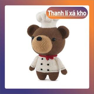 [Xả Hàng] Gấu Đầu Bếp – Đồ chơi trẻ em – Đồ trang trí trong phòng