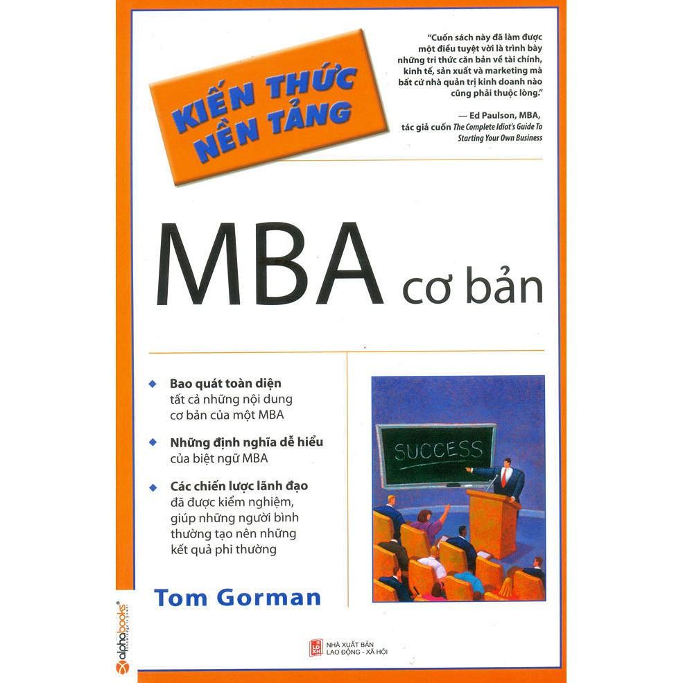 Sách - MBA Cơ Bản - 2423106028439