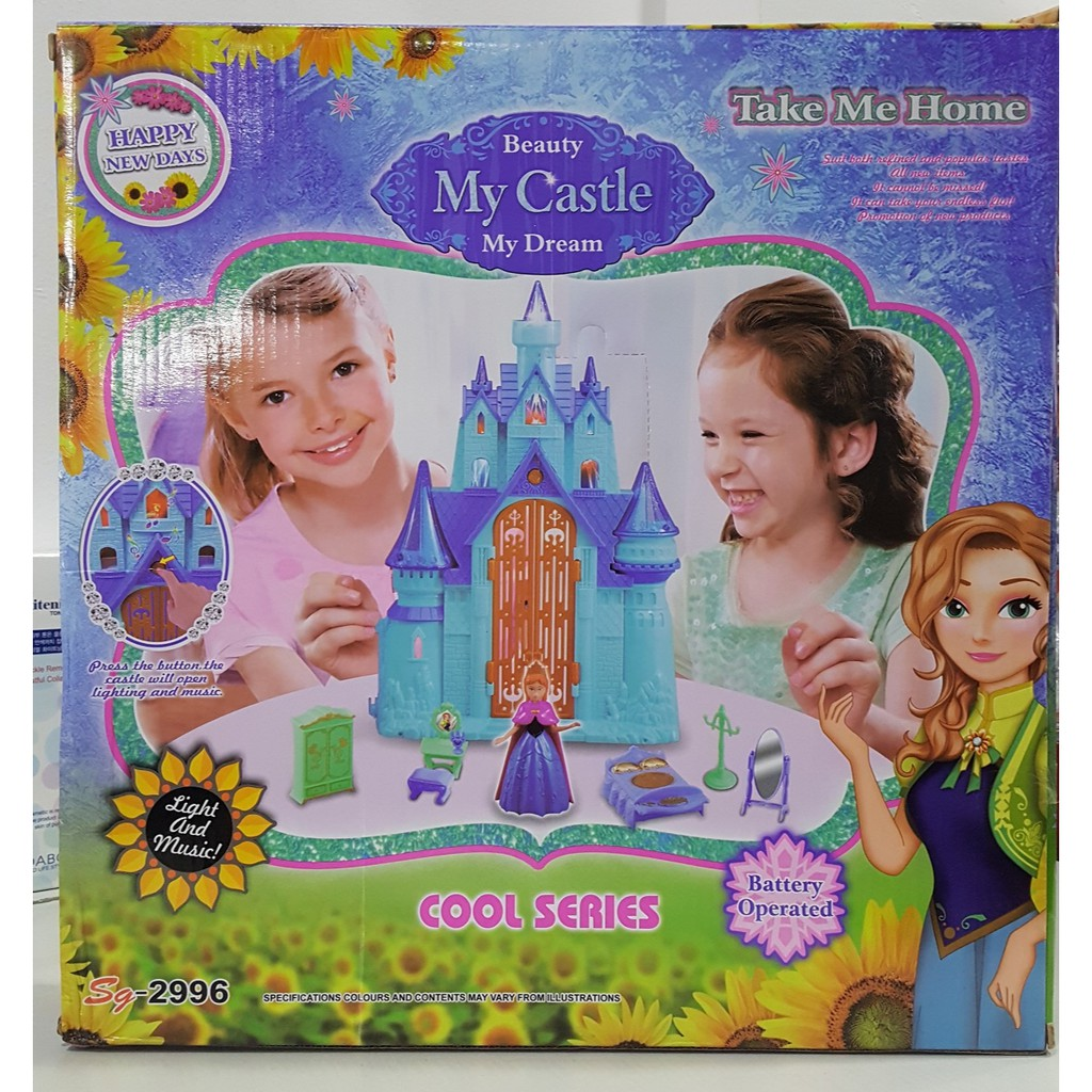Đồ chơi lâu đài có nhạc My Dream