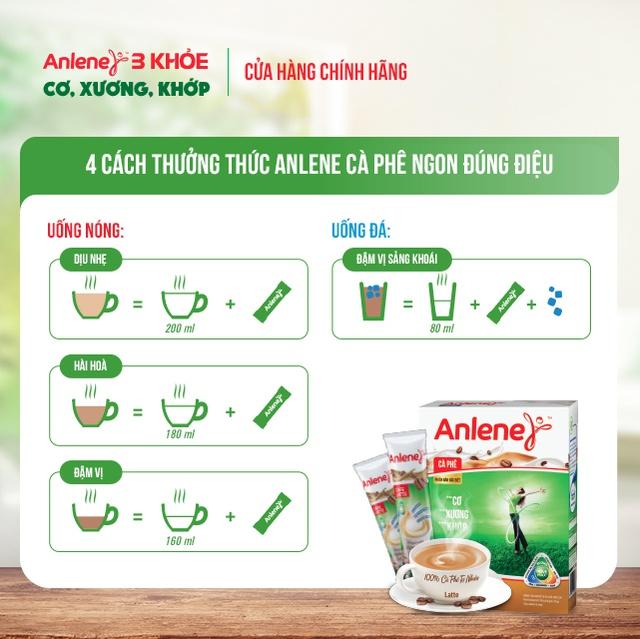 Sữa Bột Anlene Movemax Hương Cà phê hộp 310g
