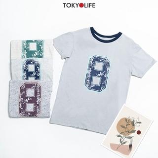[Mã WABRTKM1 giảm 10% đơn 250K] Áo T-Shirt Bé trai cổ tròn ngắn tay TOKYOLIFE I533-017E thumbnail